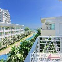 Аренда квартиры на 2 спальни в центре Хуа Хина с видом на море в Baan San Pluem — 70192
