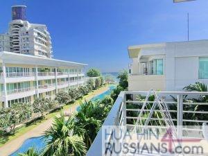Аренда квартиры на 2 спальни в центре Хуа Хина с видом на море в Baan San Pluem — 70192 на  за 65000
