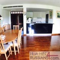 Аренда квартиры на 2 спальни в центре Хуа Хина в Baan San Saran — 70185