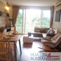 Аренда квартиры с 1й спальней в центре Хуахина в Baan Sanploen Huahin — 70194