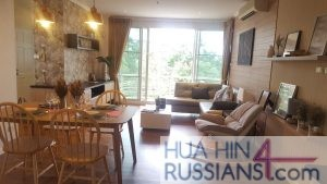 Аренда квартиры с 1й спальней в центре Хуахина в Baan Sanploen Huahin — 70194 на  за 55000