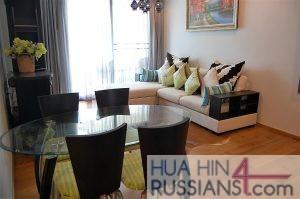 Аренда квартиры с 1й спальней на юге Хуа Хина  в Baan Sansuk — 70195 на  за 38000