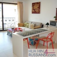 Аренда квартиры с 1й спальней в центре Хуахина в Marrakesh Hua Hin Resort — 70180