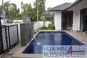Аренда виллы на 3 спальни в центральной части Хуа Хина в Mil Pool Villa — 80107 на  за 55000