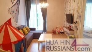 Аренда квартиры на 2 спальни на юге Хуа Хина в My Resort Apartment Hua Hin — 70193 на  за 45000