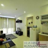 Аренда квартиры на с 1й спальней на юге Хуахина в комплексе Sea Craze — 70182
