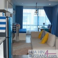 Аренда квартиры с 1й спальней на севере Хуахина в Crest Santora — 70188