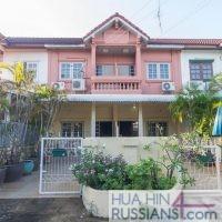 Аренда таунхауса с 2 спальнями в центре Хуа Хина в Sport Villa Huahin — 80111