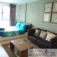 Аренда квартиры-студии на юге Хуа Хина в Baan Peang Ploen — 70631