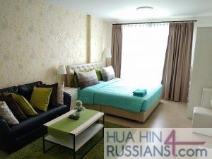 Аренда квартиры-студии на юге Хуа Хина в Baan Peang Ploen — 70632 на  за 16000