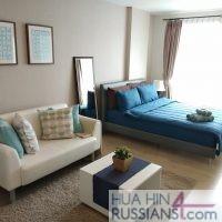 Аренда квартиры-студии на юге Хуа Хина в Baan Peang Ploen — 70633