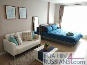 Аренда квартиры-студии на юге Хуа Хина в Baan Peang Ploen — 70633 на  за 16000
