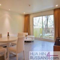 Аренда квартиры с 1 спальней в центре Хуа Хина в Mykonos Condo Hua Hin — 70624