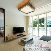 Аренда квартиры с 2 спальнями на юге Хуа Хина в WanWayla — 70623