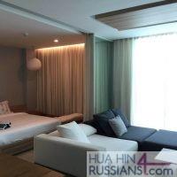 Аренда квартиры с 2 спальнями на юге Хуа Хина в WanWayla — 70622