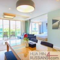 Аренда квартиры с 2 спальнями на юге Хуа Хина в WanWayla — 70621