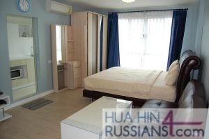 Аренда квартиры-студии на юге Хуа Хина в Baan Peang Ploen — 70643 на  за 16000