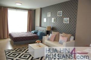 Аренда квартиры-студии на юге Хуа Хина в Baan Peang Ploen — 70642 на  за 16000