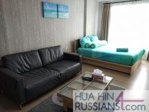 Аренда квартиры-студии на юге Хуа Хина в Baan Peang Ploen — 70634 на  за 16000