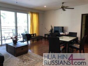 Аренда квартиры с 3 спальнями в центре Хуа Хина в Baan San Saran Hua Hin — 70635 на  за 100000
