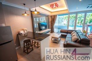 Аренда квартиры с 3 спальнями на юге Хуа Хина в My Resort Hua Hin — 70636 на  за 150000