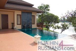 Аренда дома с 3 спальнями на юге Хуа Хина в Sira Sila  — 80114 на  за 55000