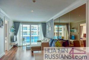 Аренда квартиры с 2 спальнями на юге Хуа Хина в My Resort Hua Hin — 70640 на  за 45000