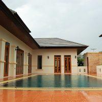Аренда дома с 3-мя спальнями и огромным бассейном на севере Хуа Хина — 80090