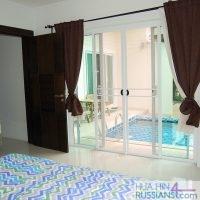 Аренда дома на 2 спальни рядом с центром Хуа Хина с видом на горы — 80089